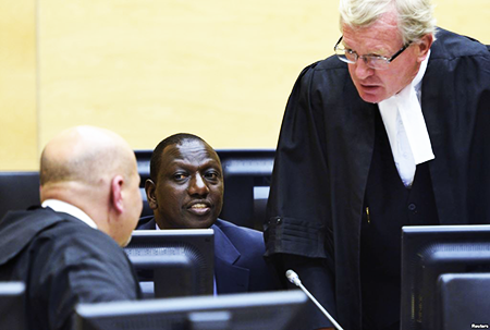 ICC turns down William Ruto's request.