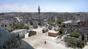 Torn down Mogadishu slowly coming back to life
